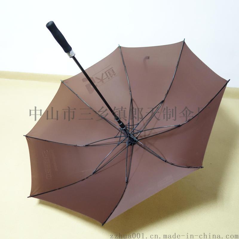 源头厂商27寸大开全纤纬高尔夫伞直杆晴雨广告伞