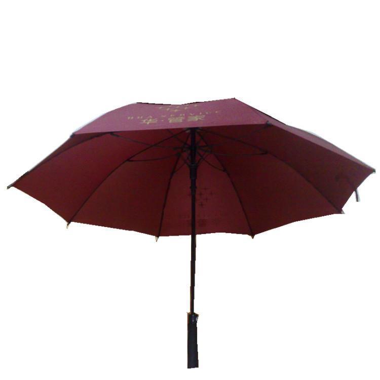 郎天雨伞厂外贸出口加大高尔夫直柄大遮阳太阳伞