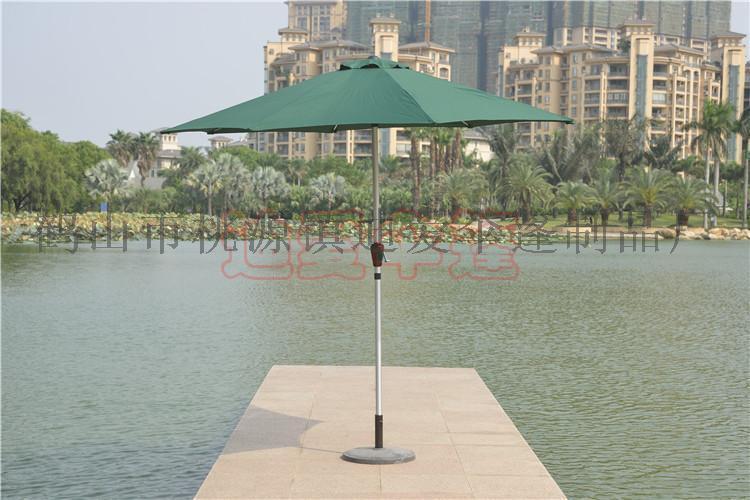 直销铝合金中柱伞 休闲户外伞 遮阳伞 庭院伞 广告伞 沙滩伞 可定制代印logo