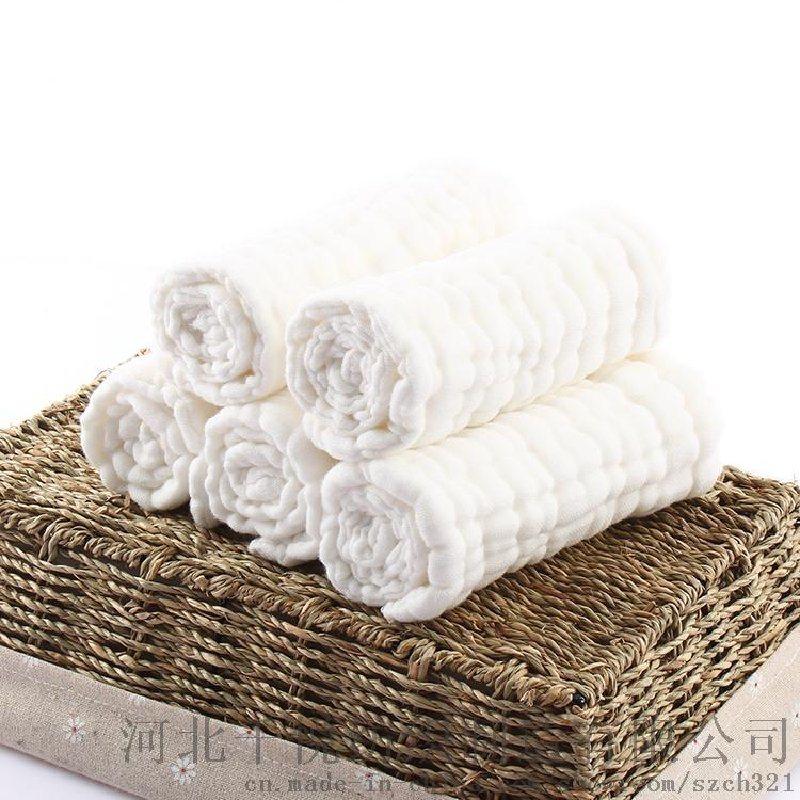千悦纺织供应婴儿尿垫 纯棉9层新生儿水洗纱布尿布 母婴用品批发