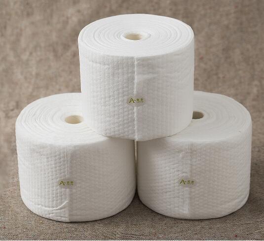 东西湖区美容清洁巾点断式柔巾卷款到发货