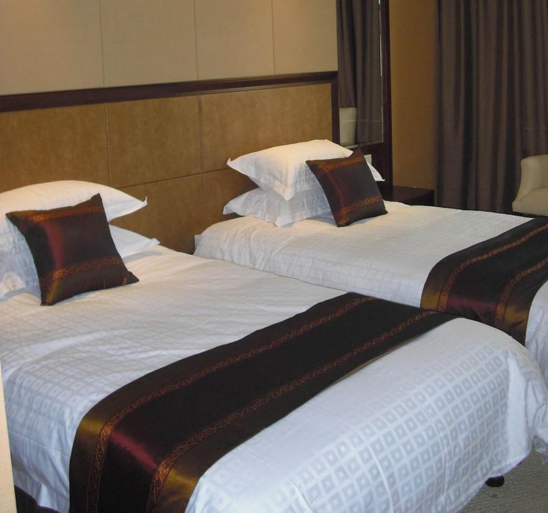 酒店宾馆专业布草 纯棉贡缎面料被套床单枕套