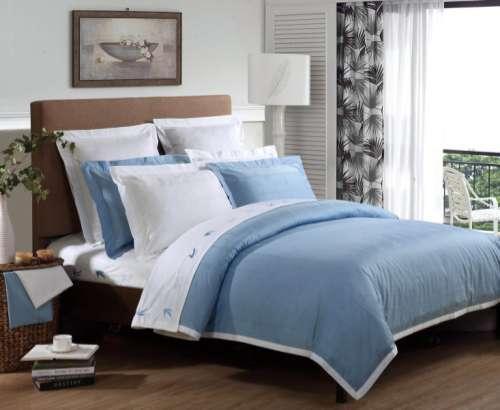 佛山宾馆床上用的床单被套厂家, 学校床上用品