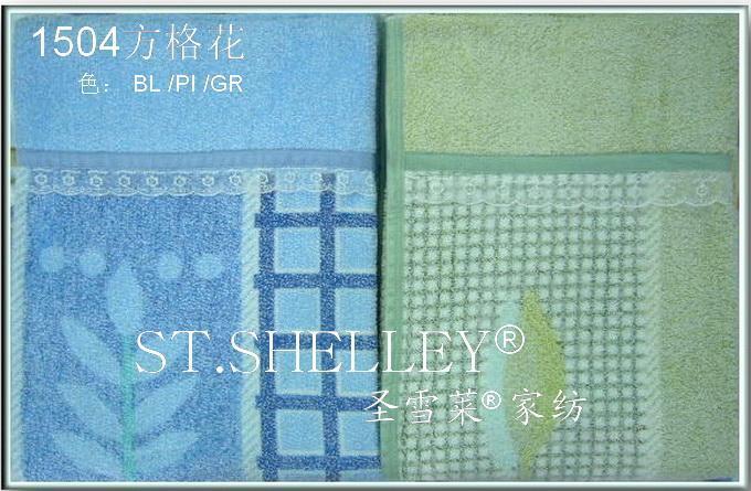 厂价供应1504棉质经编印花毛巾被