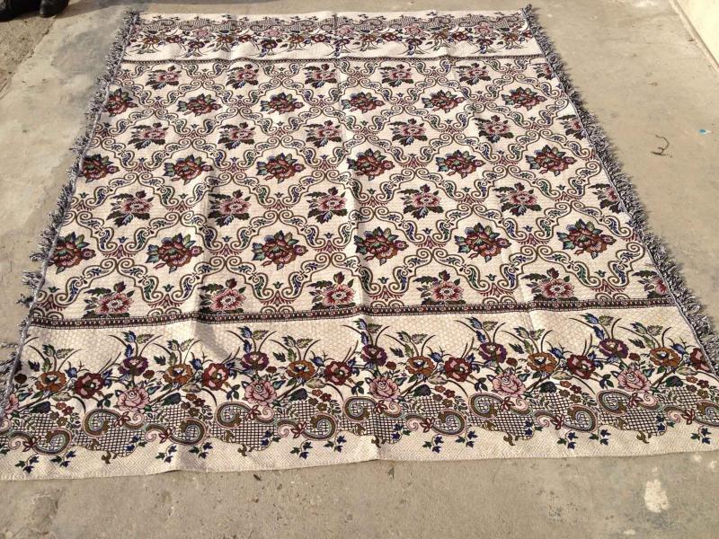 五色线毯,床单,可定制混批,厂家直销