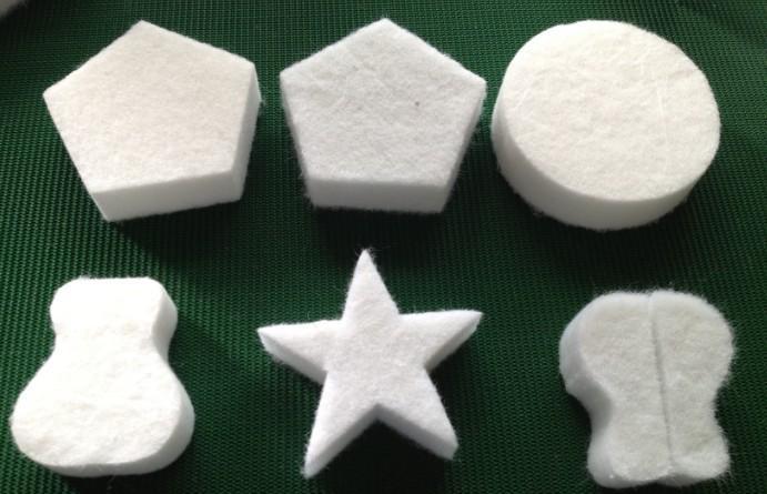 特殊异形硬质棉直立棉