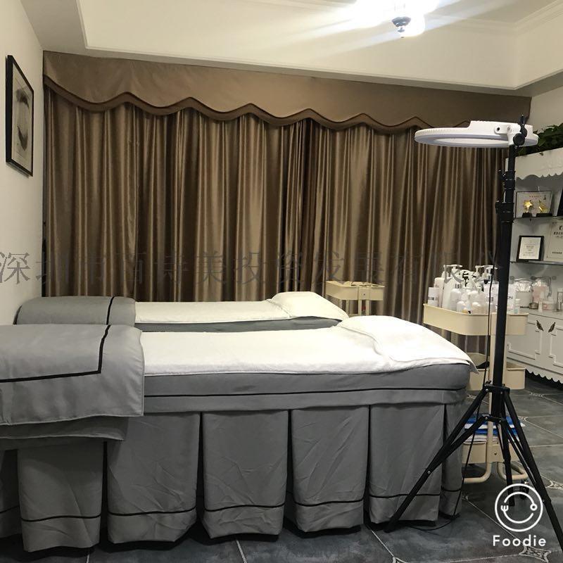 厂家直销美容床罩四件套新款韩版