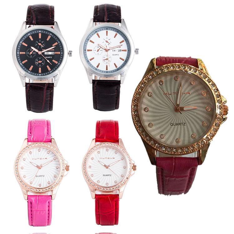 香港酷米卡手表批发 新款时尚带日历光动能手表厂家直销 石英表