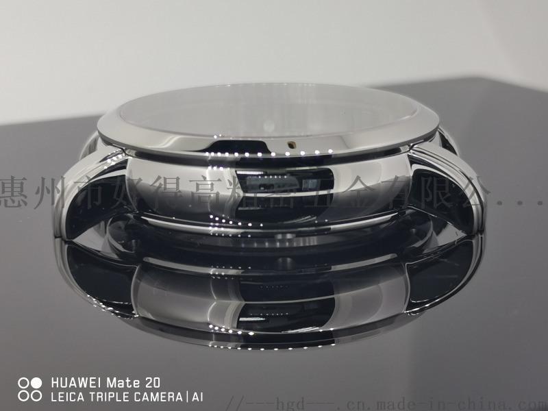 手表配件 18K白金表壳成品壳 商务石英防水表壳