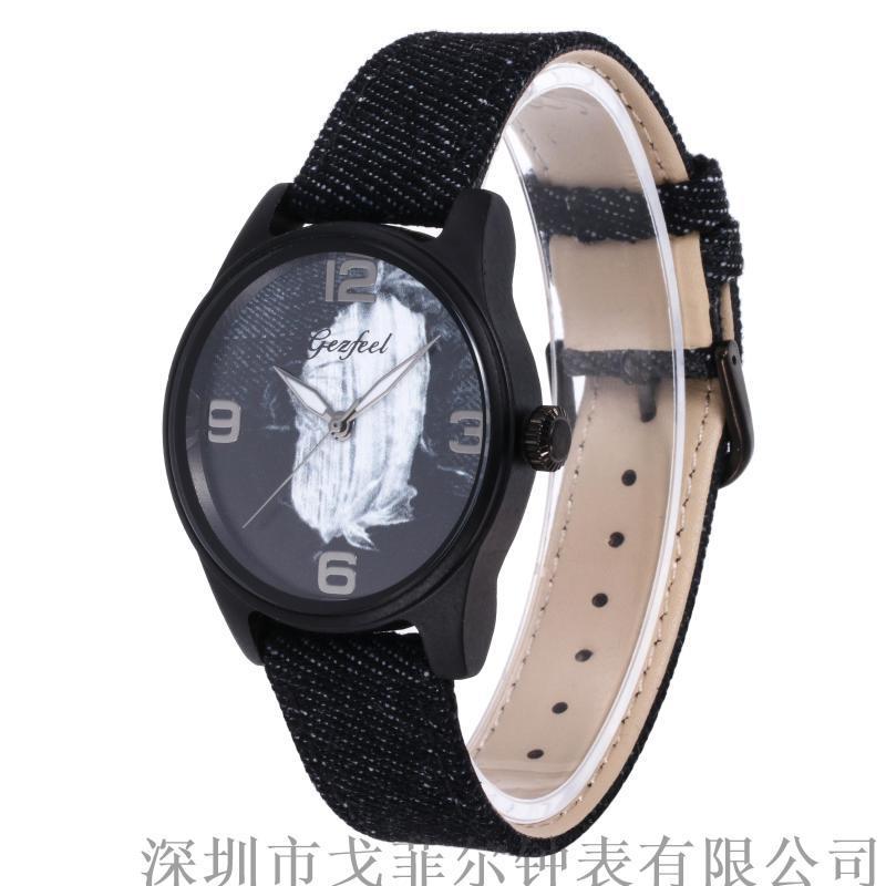 Gezfeel品牌时尚女款手表木质石英手表一件代发