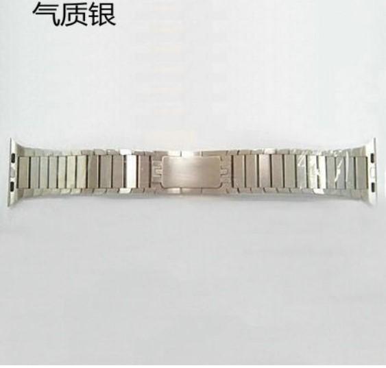 不锈钢个性手表金属表带watch 智能手表带金属表带订做批发