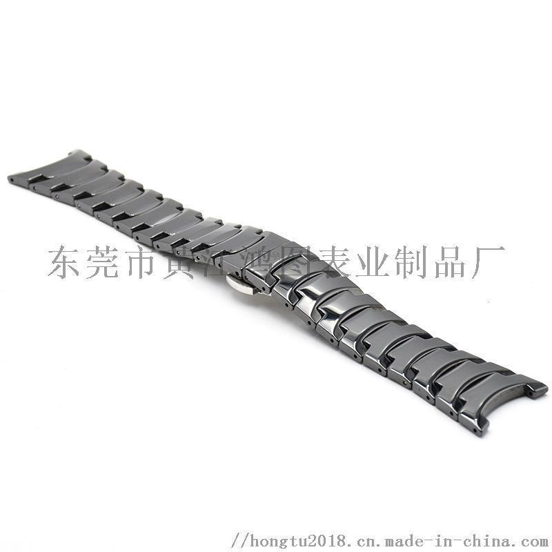 东莞时尚陶瓷表链加工适配雷达手表系列