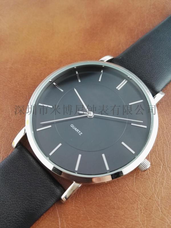 手表男批发学生韩版时尚潮流时装腕表防水皮带男士手表石英表