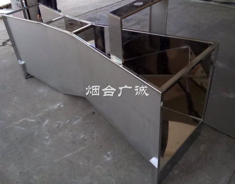 广诚  价YT-BSC不锈钢巴歇尔槽 配明渠流量计使用