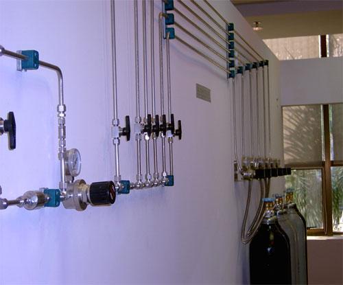 实验室集中供气系统 供气系统 实验室气体
