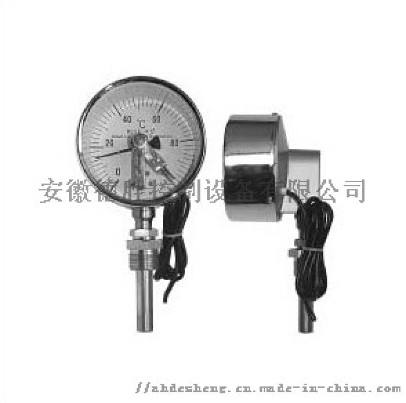 径向电接点双金属温度计WSS-411X