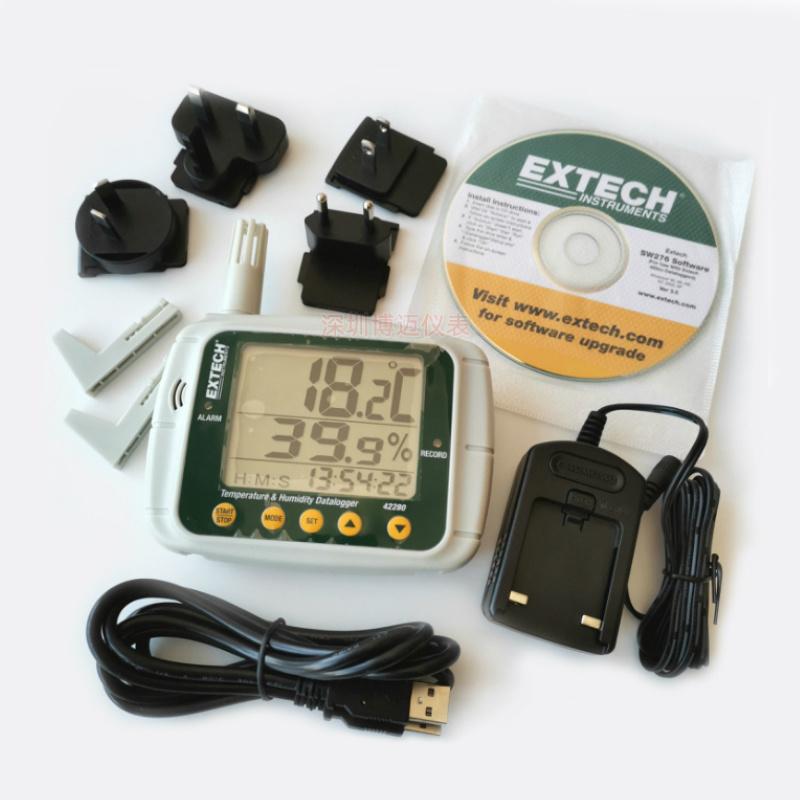 美国艾示科Extech 42280温湿度记录仪