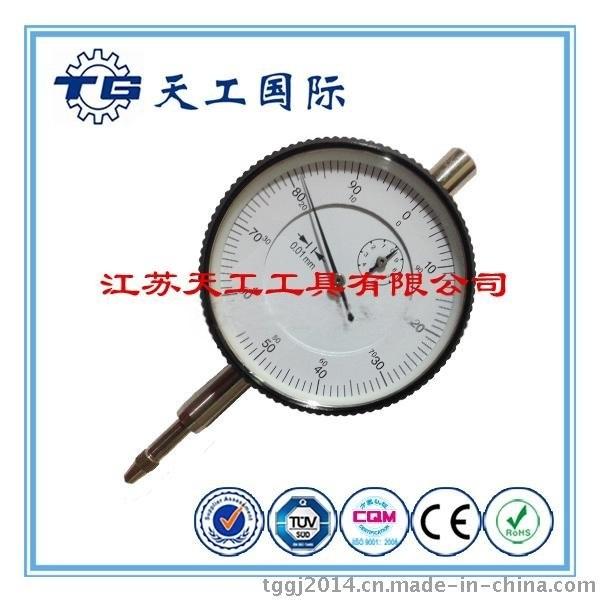【天工工具】TG 新品 0-10mm精密防震国标百分表