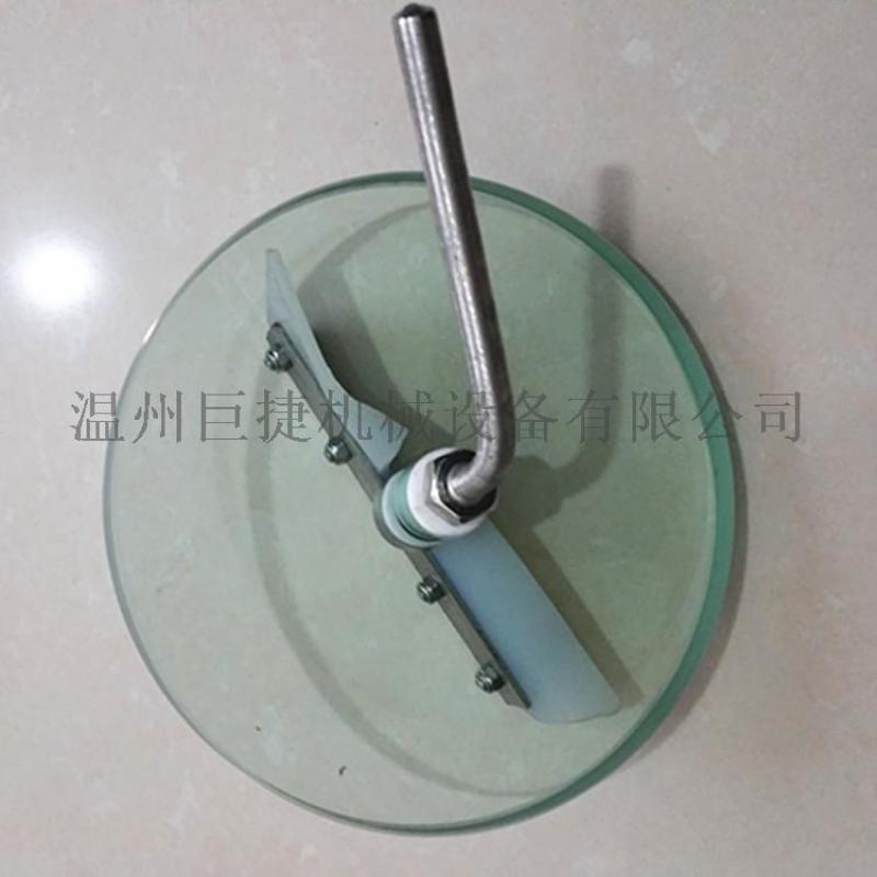 不锈钢刮片玻璃 钢化玻离带刷 可定做不同尺寸