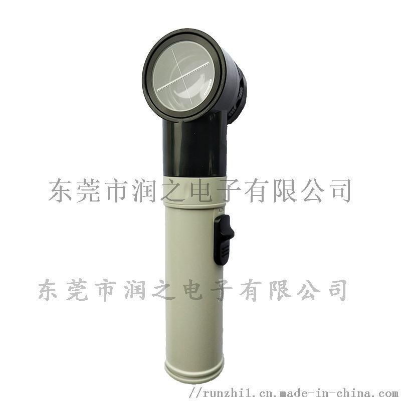 PVC塑胶地板专用十字刻度手持式放大镜