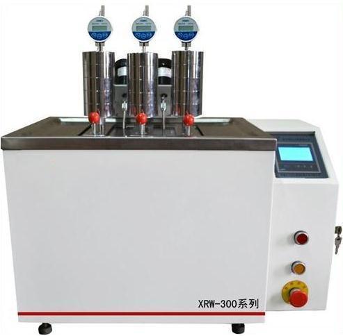 XRW-300维卡仪 热变形/维卡试验机 微机控制塑料热变形测定仪