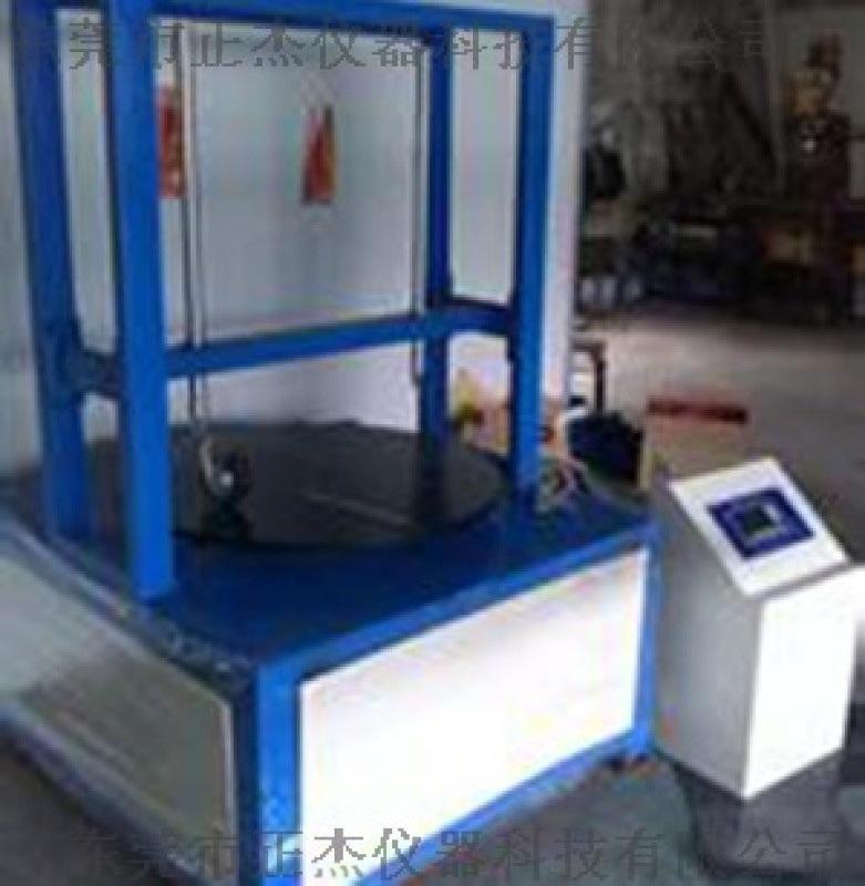 工业脚轮出口检测设备,正杰双工位脚轮耐磨试验机