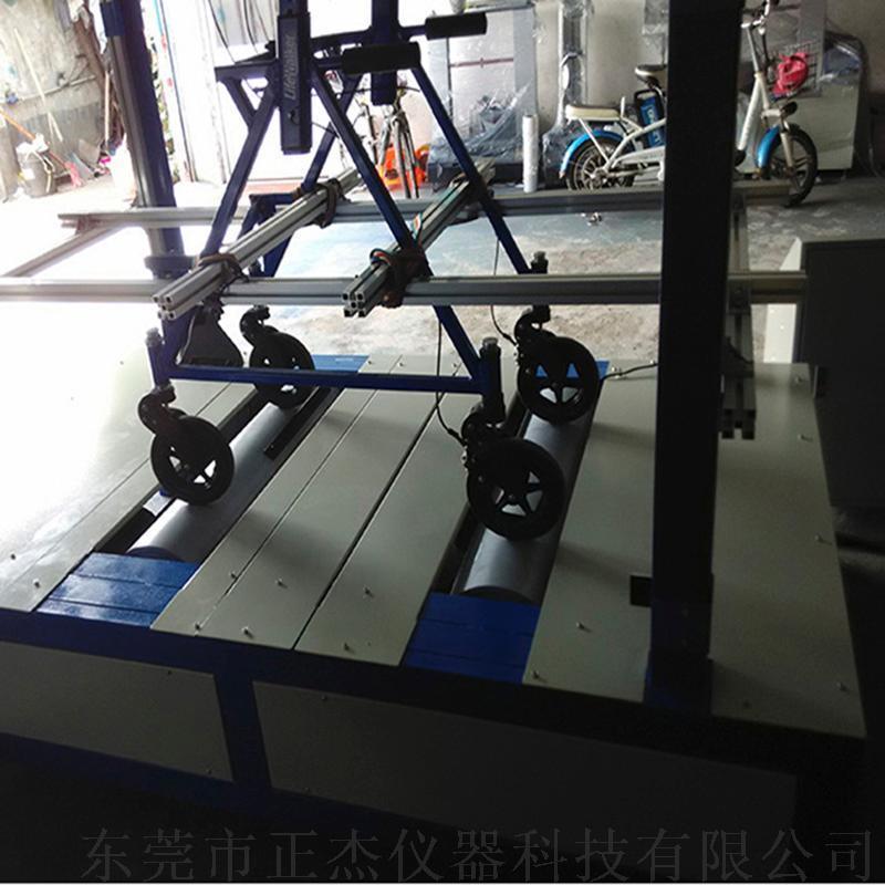 新款改良残疾人代步车行驶寿命测试机 轮椅检测设备