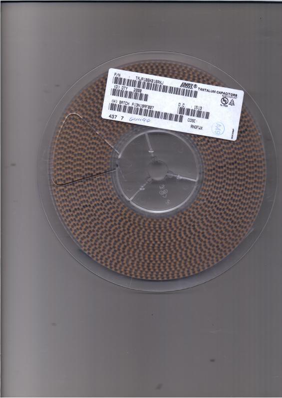 全新原装 AVX 钽电容 TAJD226K035RNJ 35V 22UF D型 avx钽电容授权代理