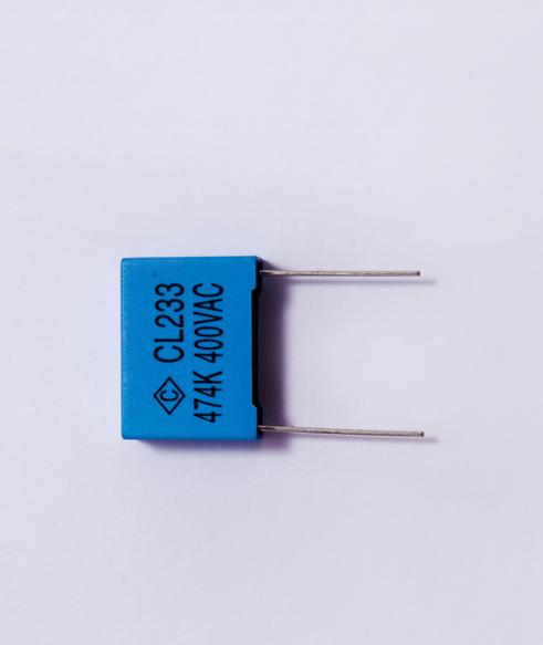 盒式金属化聚酯膜滤波电容器