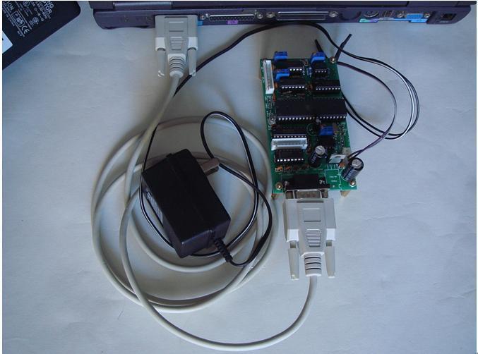 RS232串口控制的D/A(数模转换)转换板