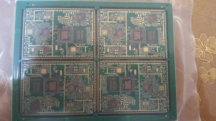 科鼎精密电路-6层通讯模块半孔电路板