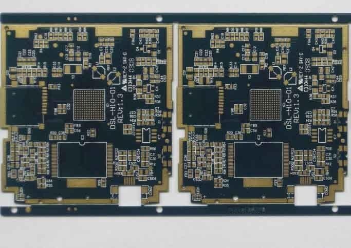 科鼎精密电路-6层哑光黑油阻抗线路板