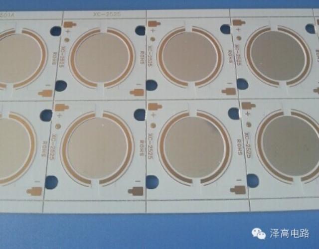 COB镜面铝基板