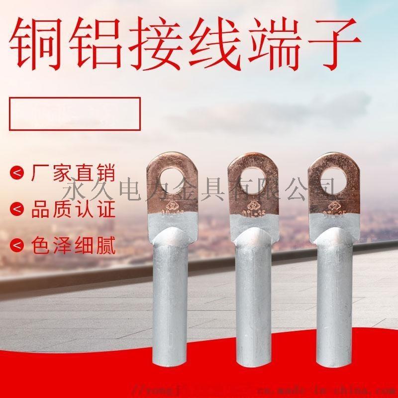 铜铝鼻接线端子DTL-50平方 电缆过渡 永久金具