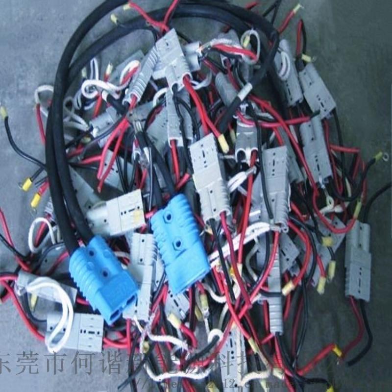 350A600V连接器 电动巴士充电插头助力手柄