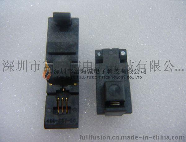 wells-cti IC插座499-P37-20支持(SOT-89)或TO-243-4pin 封装老化测试