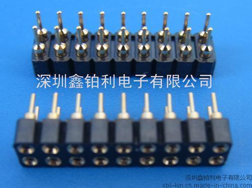 2.54 IC Socket 双排圆孔
