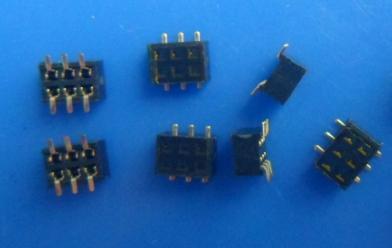 排母1.27mm 2*nP smt H:2.0mm