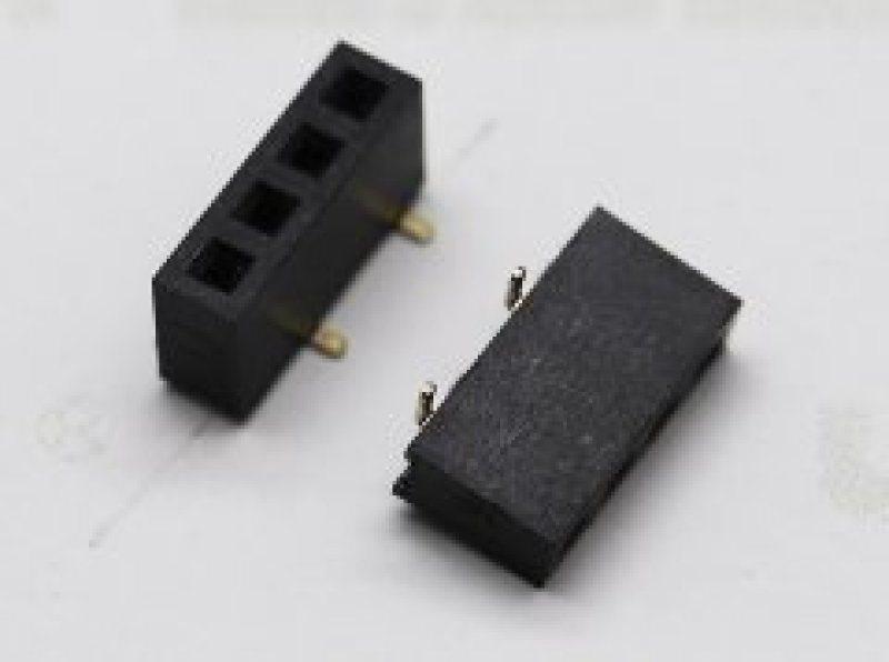 电路板连接器91-1.27mm 单排母 SMT