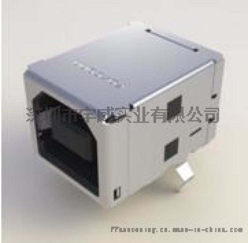 富士康B型USB插座UC11123-11KA-4F