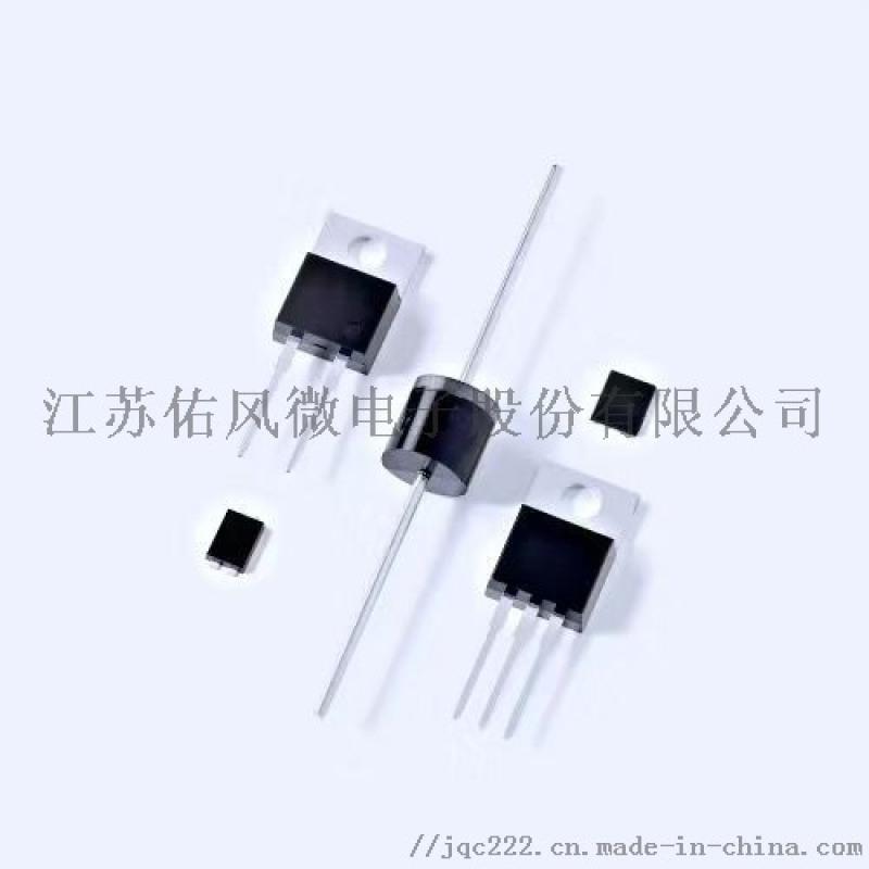 厂家供应贴片TVS瞬态电压二极管-江苏佑风微电子