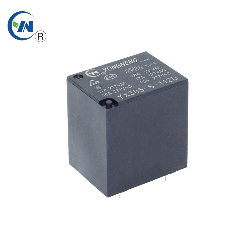永能HF152F 16A 4脚5脚小型功率继电器