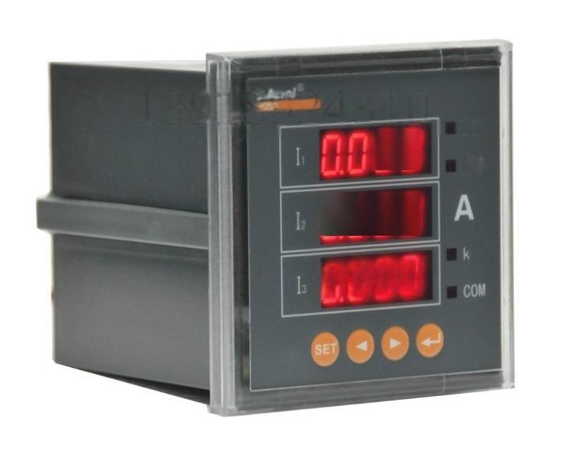 安科瑞三相电流表PZ80-AI3/JC 带继电器报