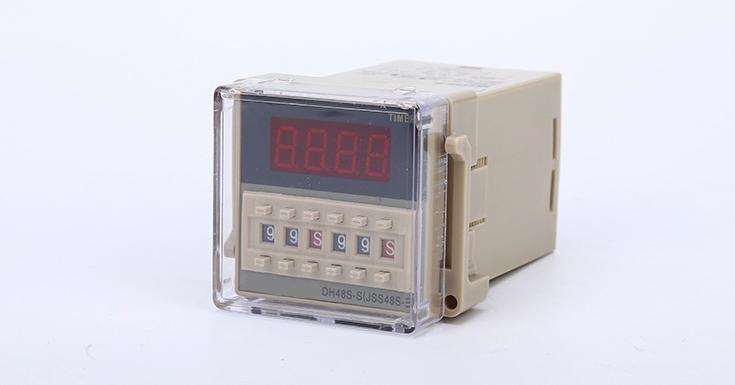 DH48S-2Z 数显时间继电器 JSS48A-8二组通电延时AC220V
