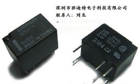G5V-1-5VDC欧姆龙继电器原装新货