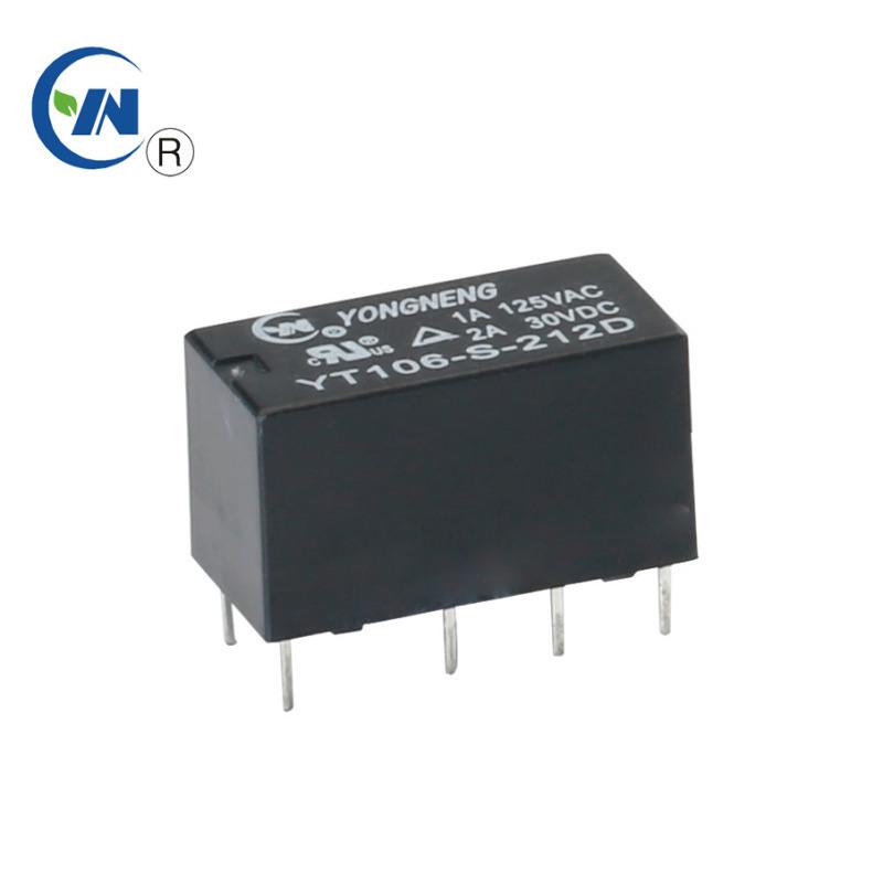 永能YT106 8脚小型信号HF27F继电器