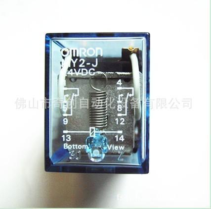 MY2N-J AC24 8脚带灯中间继电器