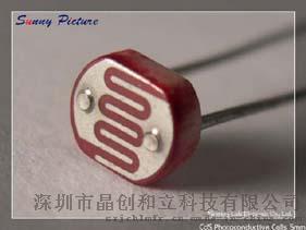 现货供应光敏电阻GL5549--5毫米光敏电阻CDS