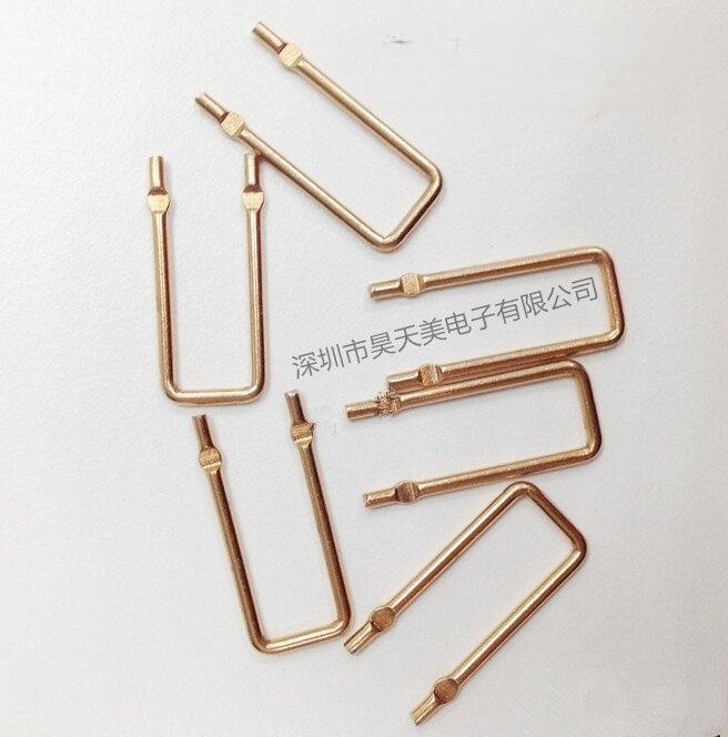 专业生产康铜跳线 铜跳线 锰铜跳线 0.4mm-2.0mm