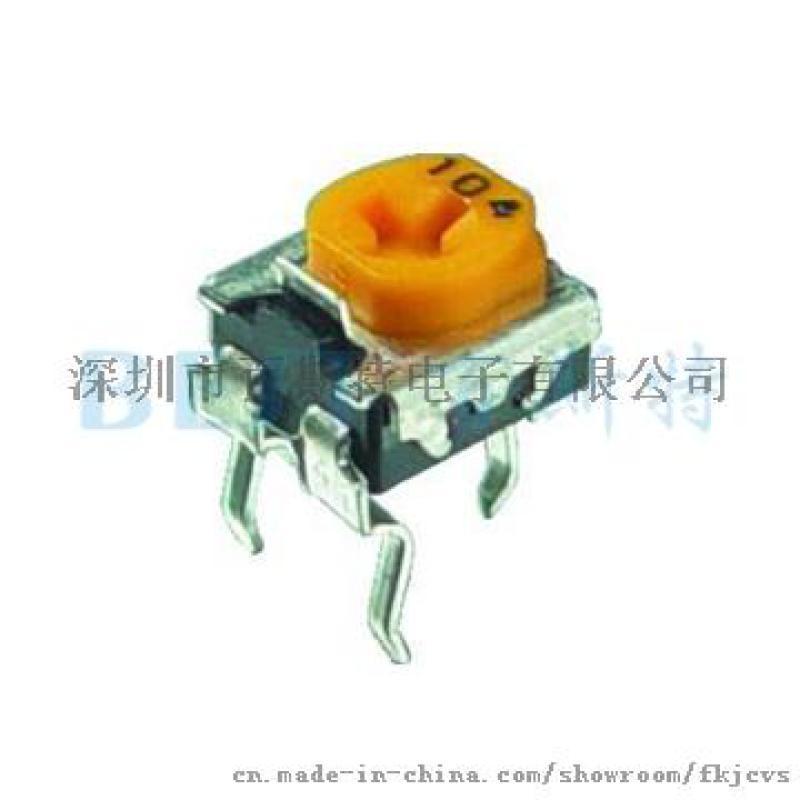 EVND8AA可调电阻如何测量阻值